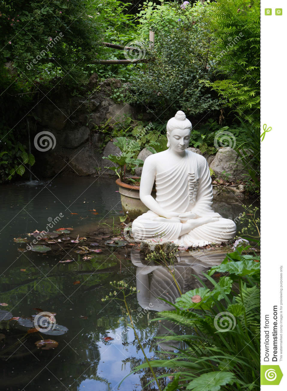 Buddha Statue In Andre Heller Garden Stock Photo Image 73010337