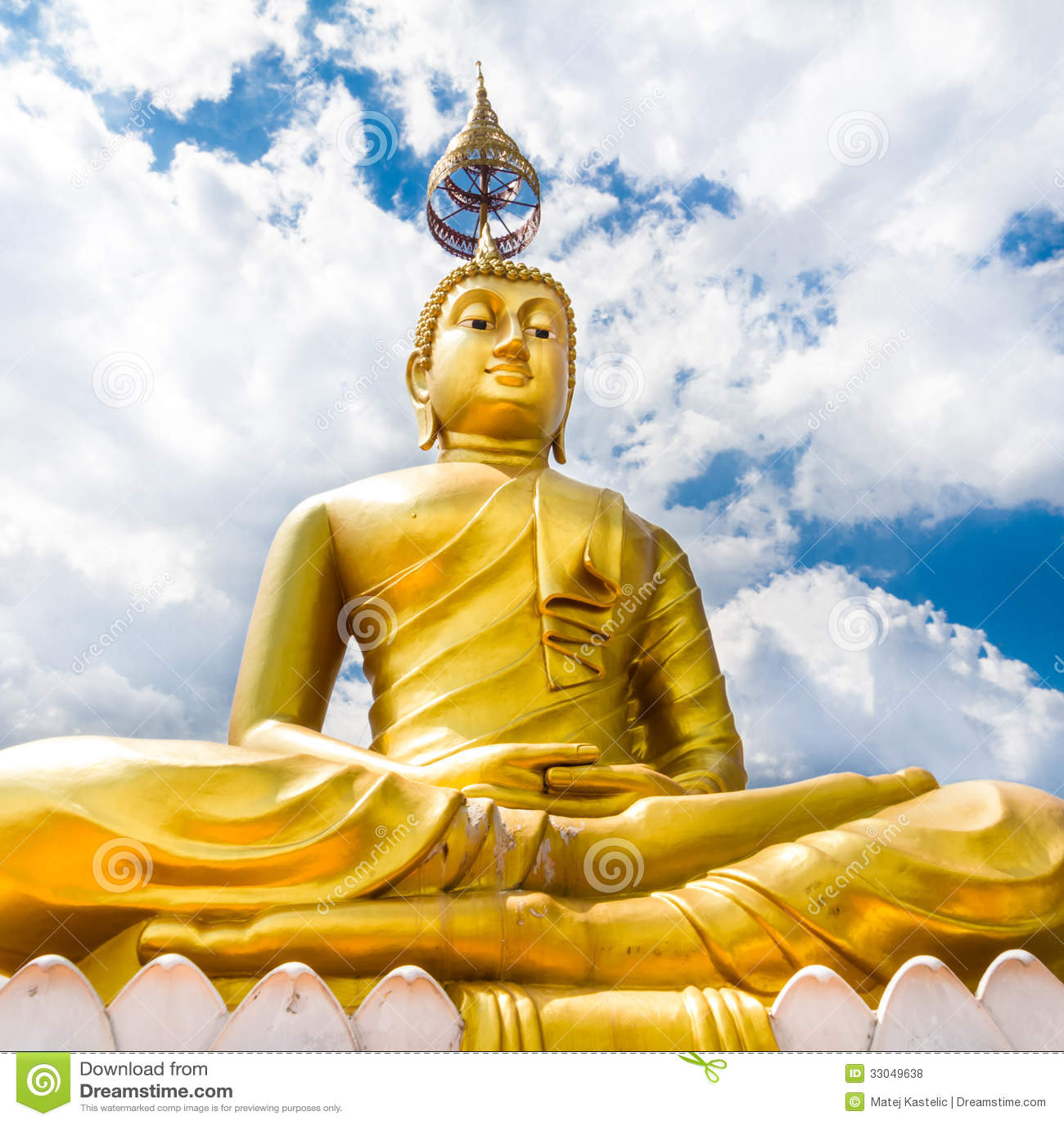 Royalty Free Stock Photos: Buddha statue - Krabi Tiger Cave - Wat Tham ...