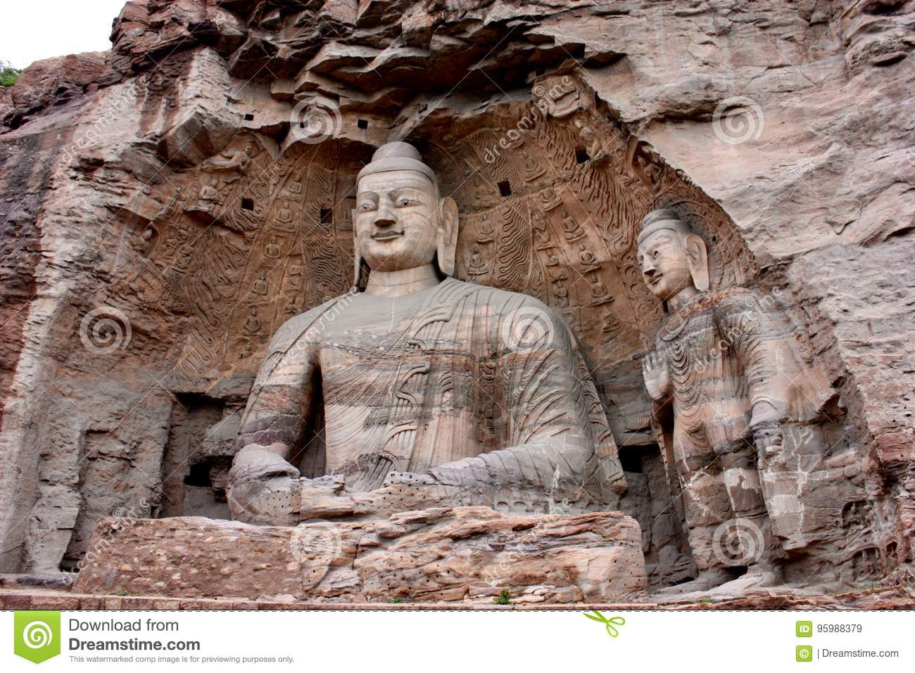 Yungan grottos and the cradle of Buddhism