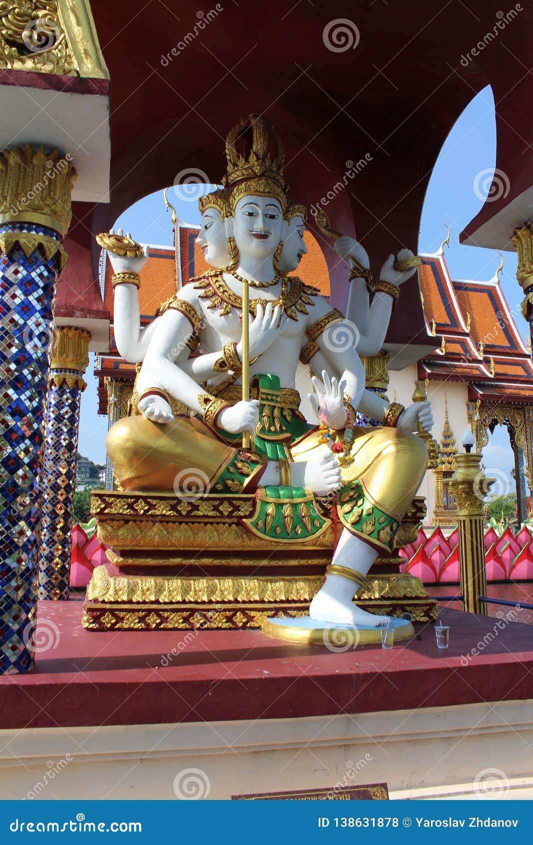 Buddha staty thailand