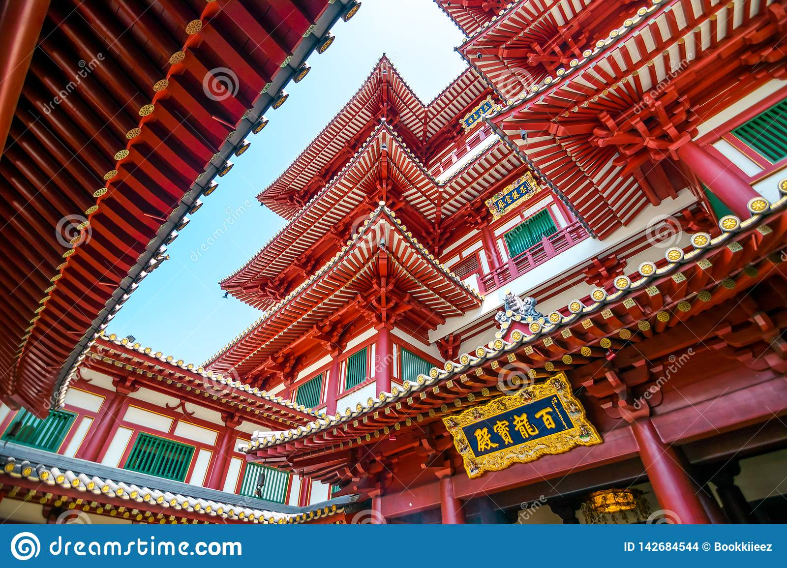 The Buddha Tooth Relic Temple.