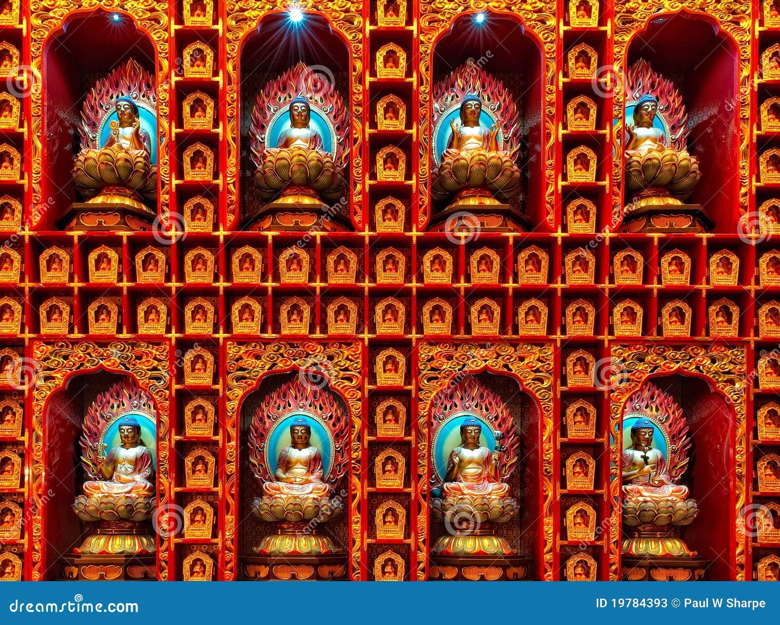 Buddha vägg