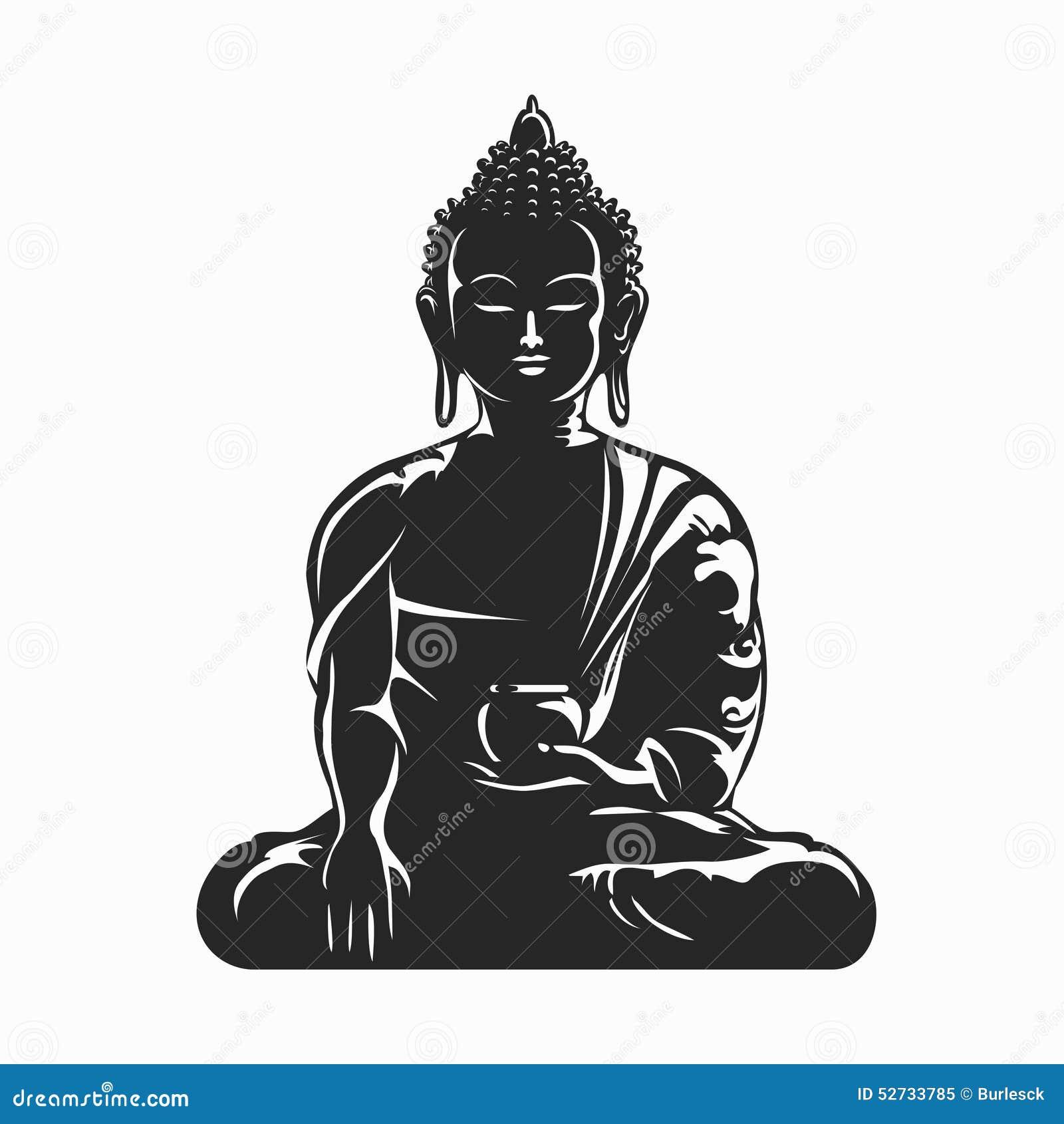 Buddha stock illustrations 11701 buddha stock illustrations buddha vector silhouette buddha black silhouette meditation and buddhism yoga symbol vector buycottarizona