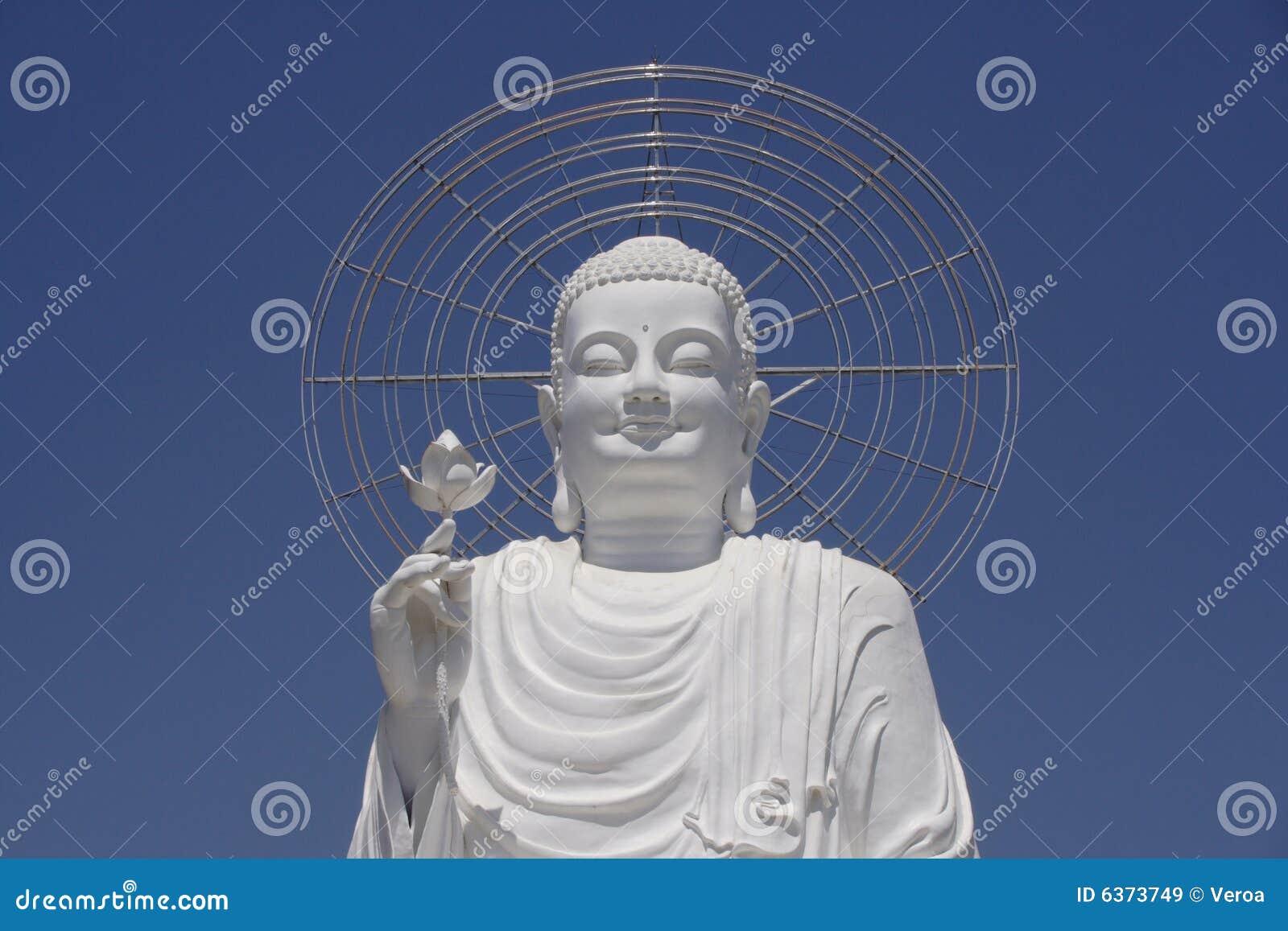 Buddha white
