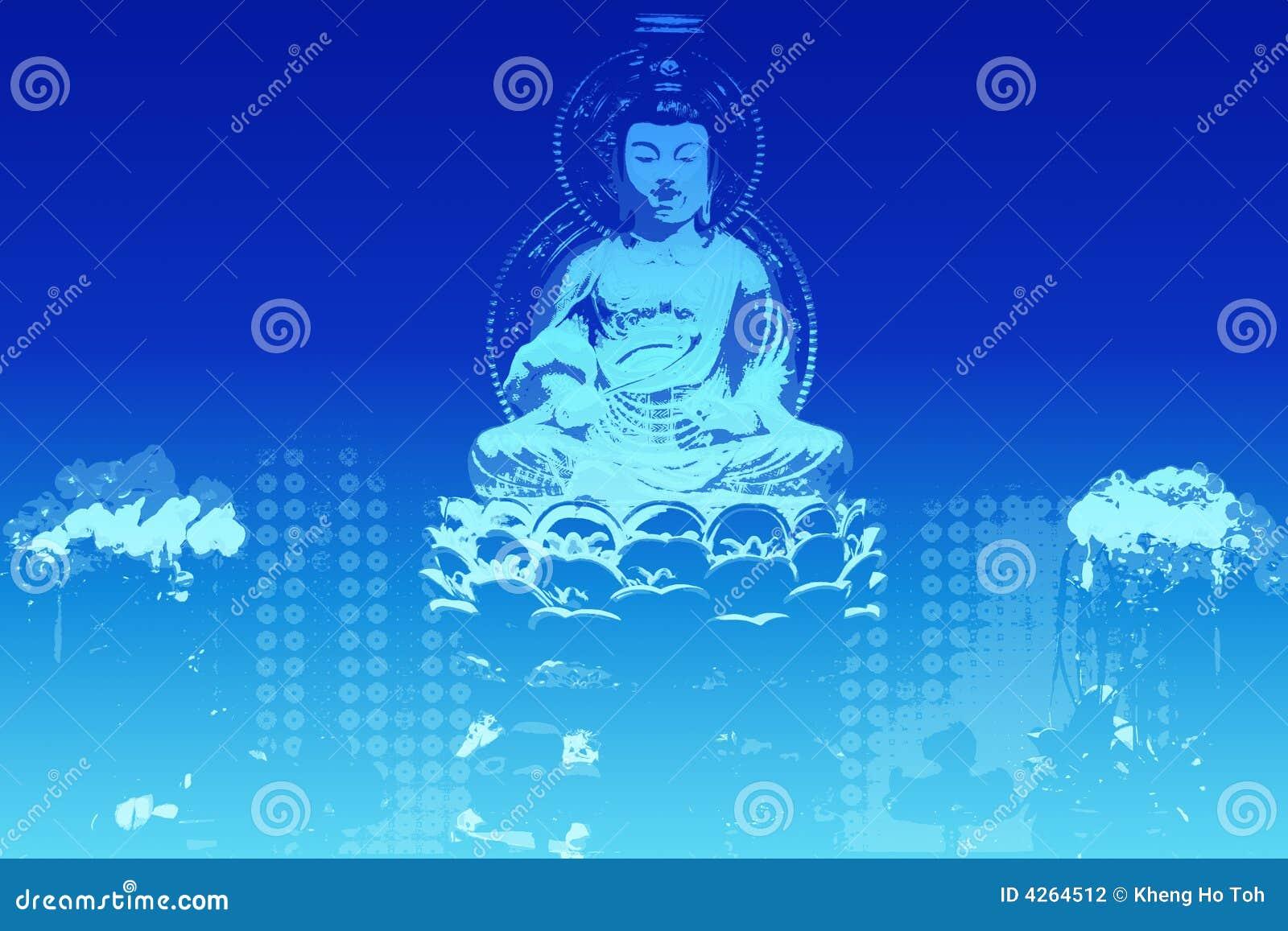 Buddha In A Zen State Background Stock Illustration ... | 1300 x 957 jpeg 113kB