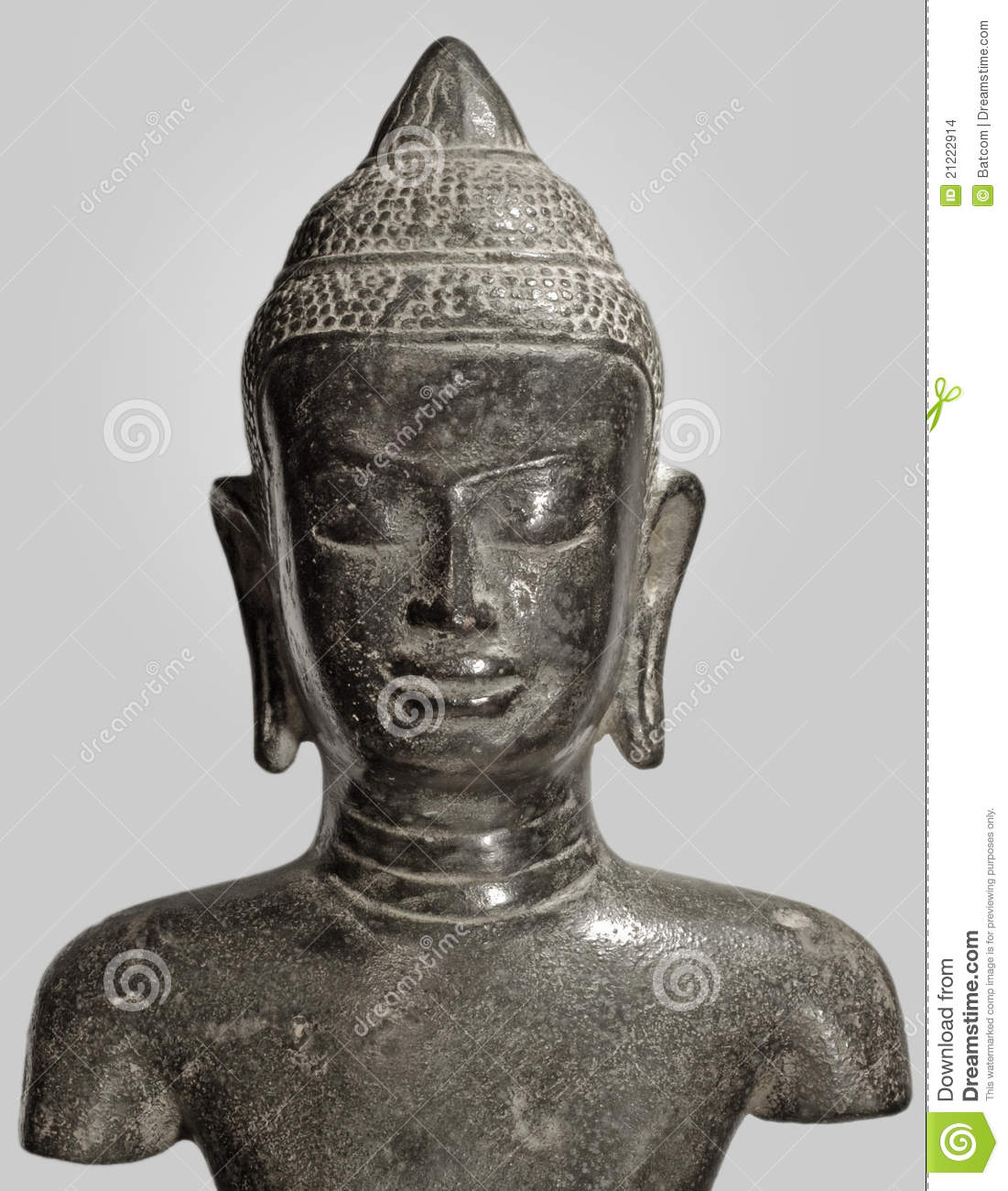 buddha zen statue stock photo image of india bust cult 21222914. Black Bedroom Furniture Sets. Home Design Ideas