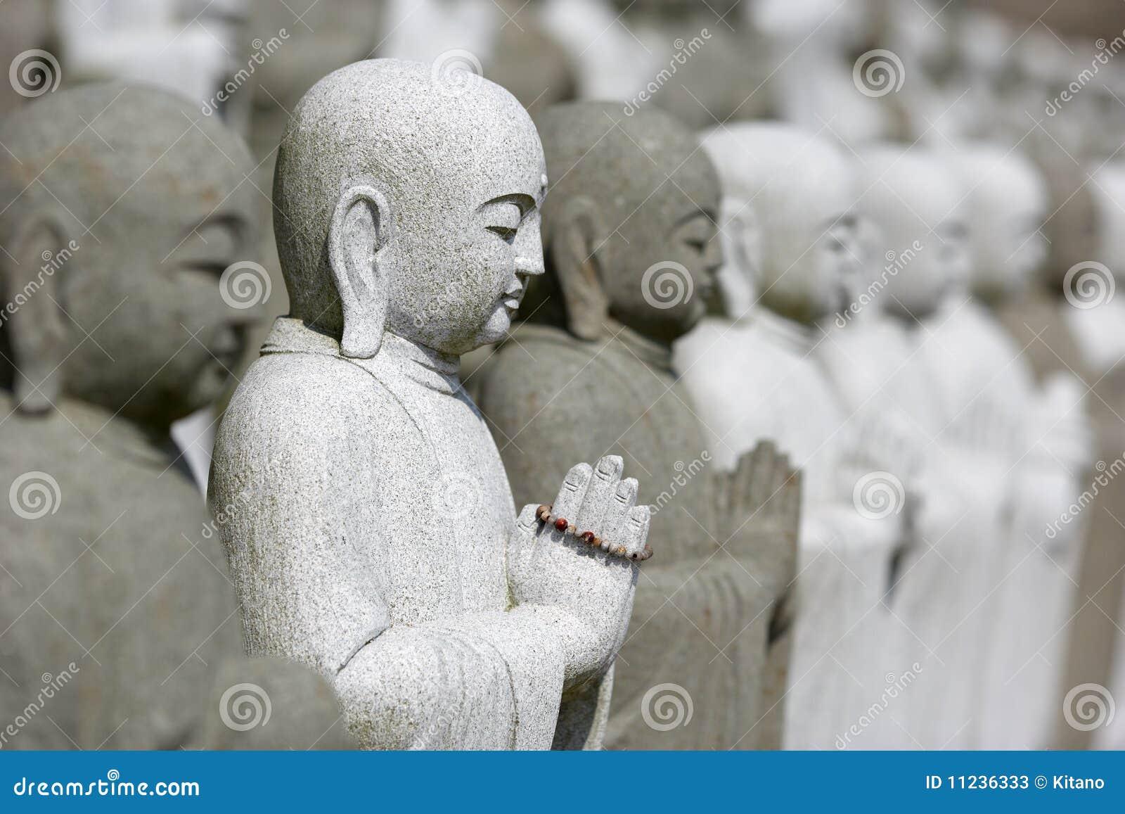 Buddhas собирают meditating