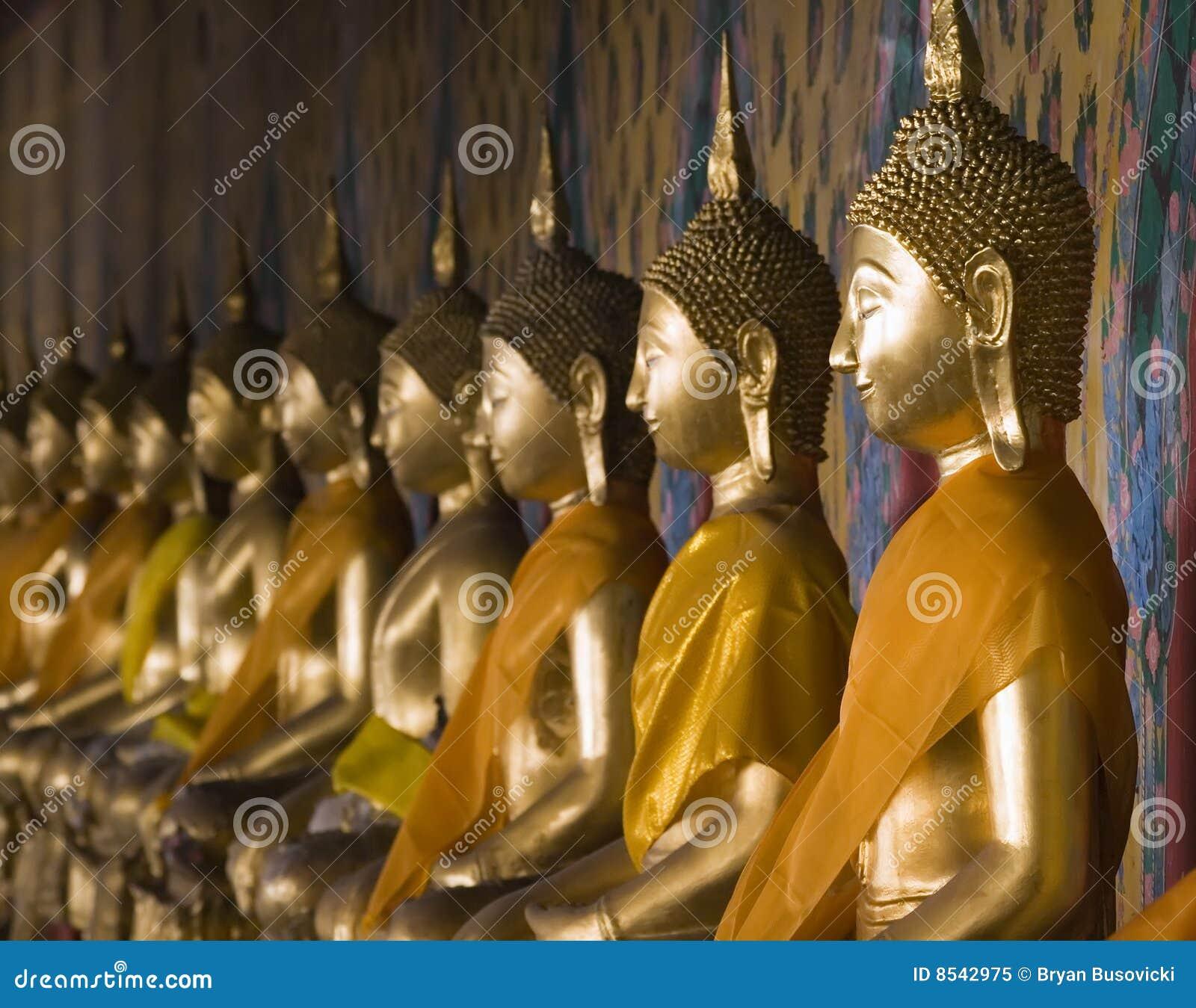 Buddhas tailandés