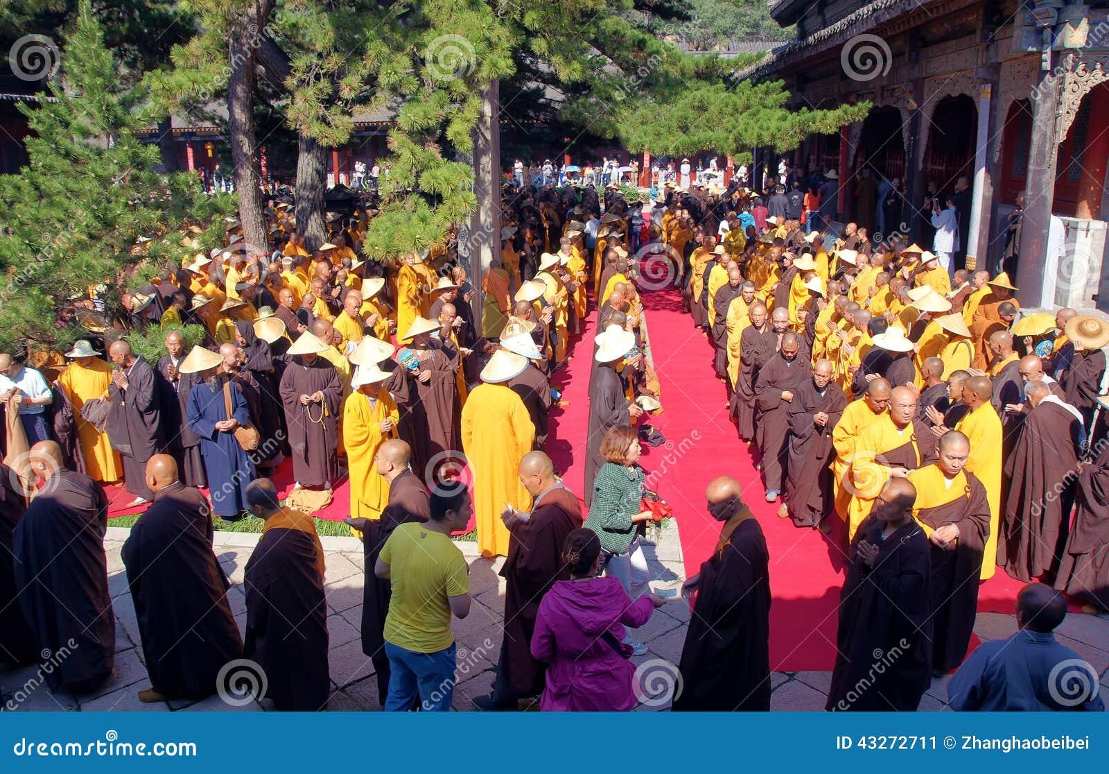 Buddhism religious ceremony
