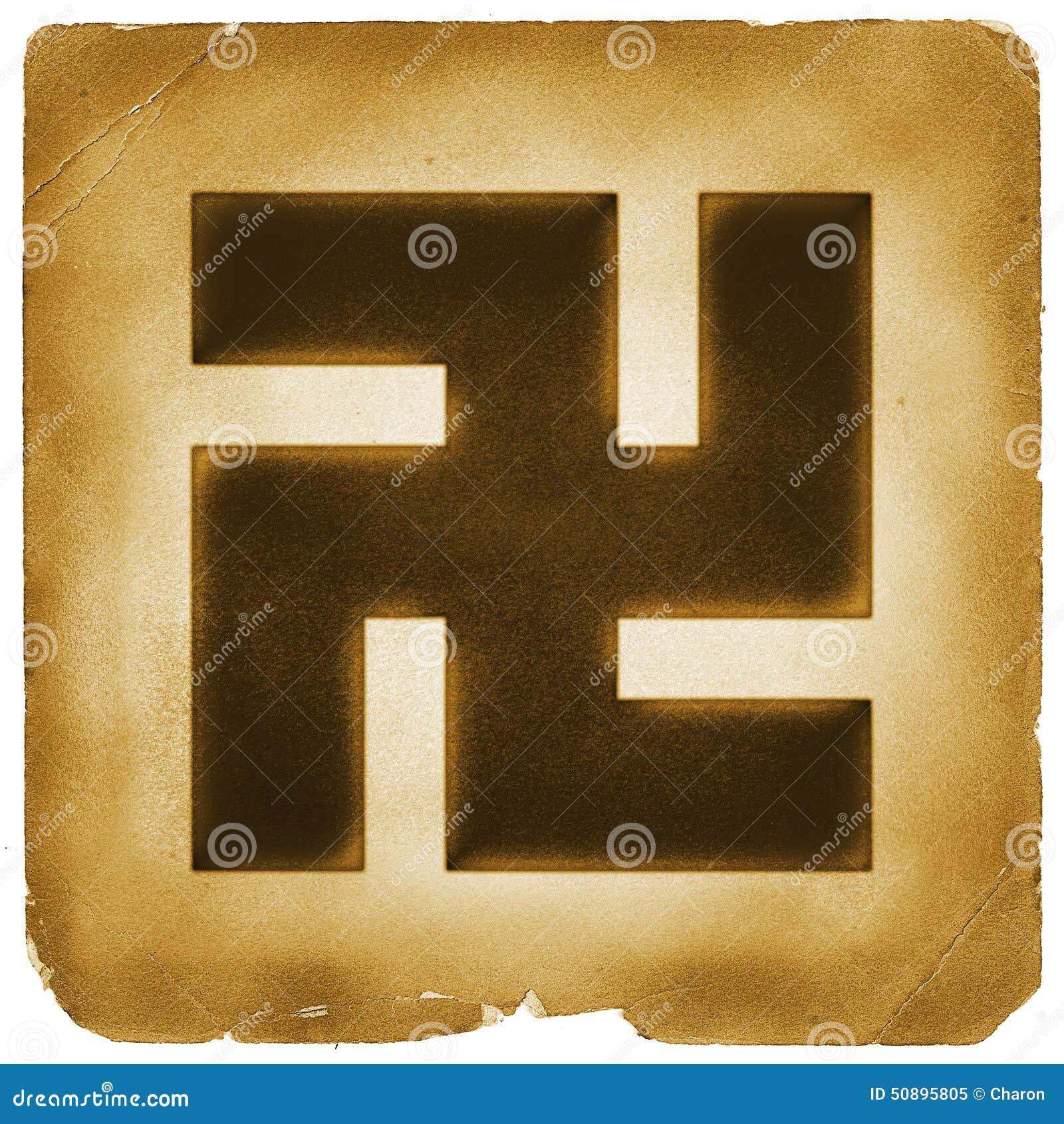 Buddhism swastika buddha sign old paper stock illustration buddhism swastika buddha sign old paper buycottarizona
