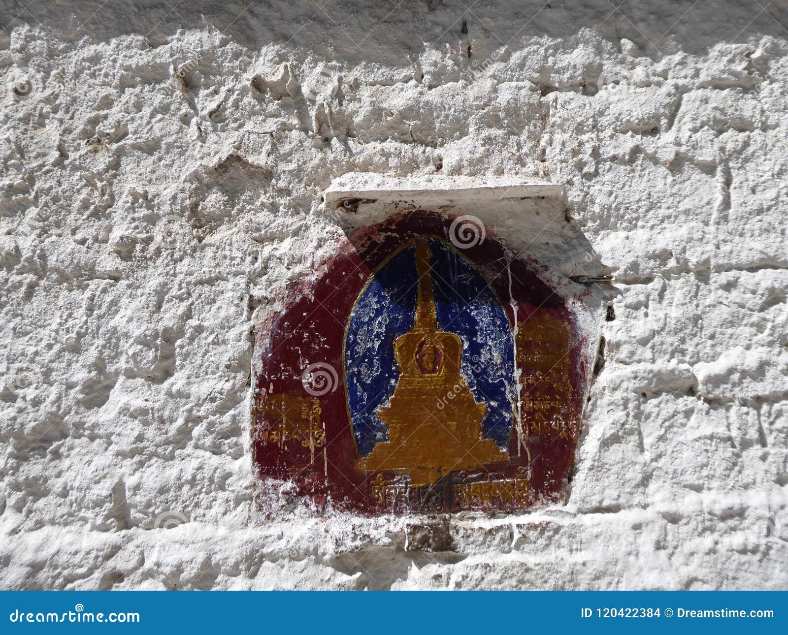 Outside Potala Palace Lhasa Tibet Stock Photo - Image of