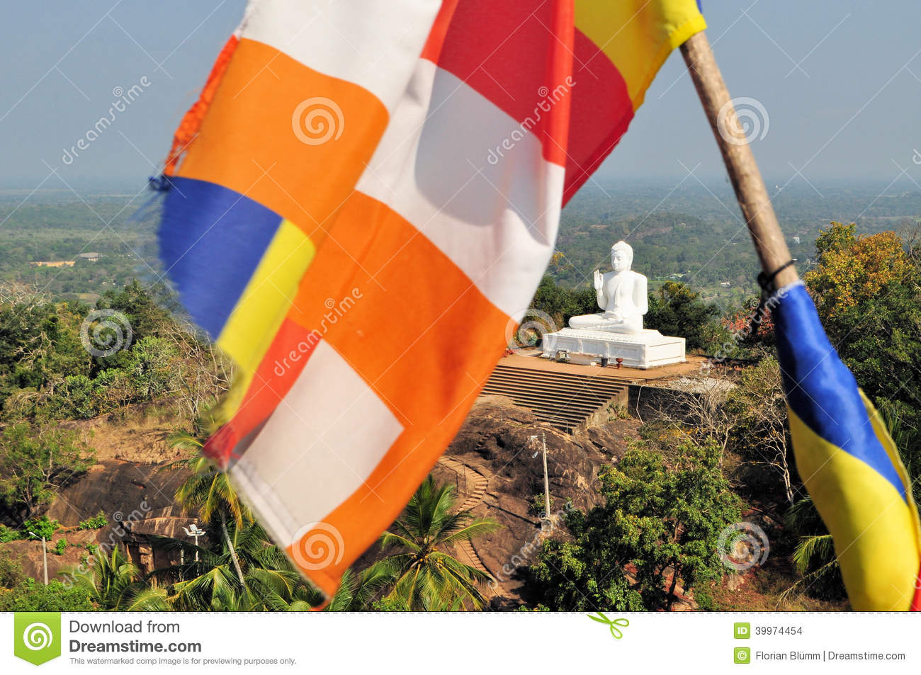 Image result for buddhist flag