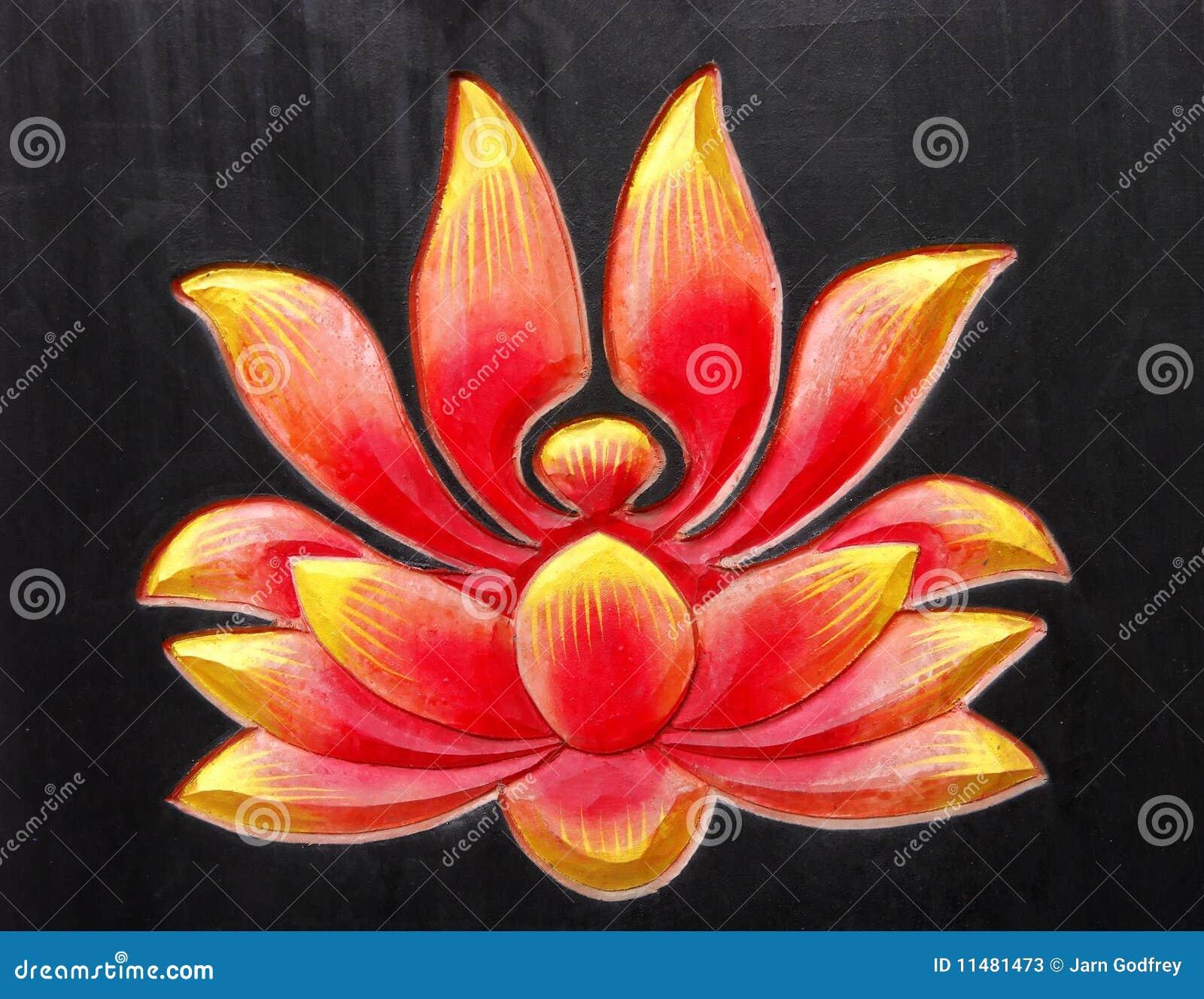 Buddhist Lotus Design Stock Photos Image 11481473