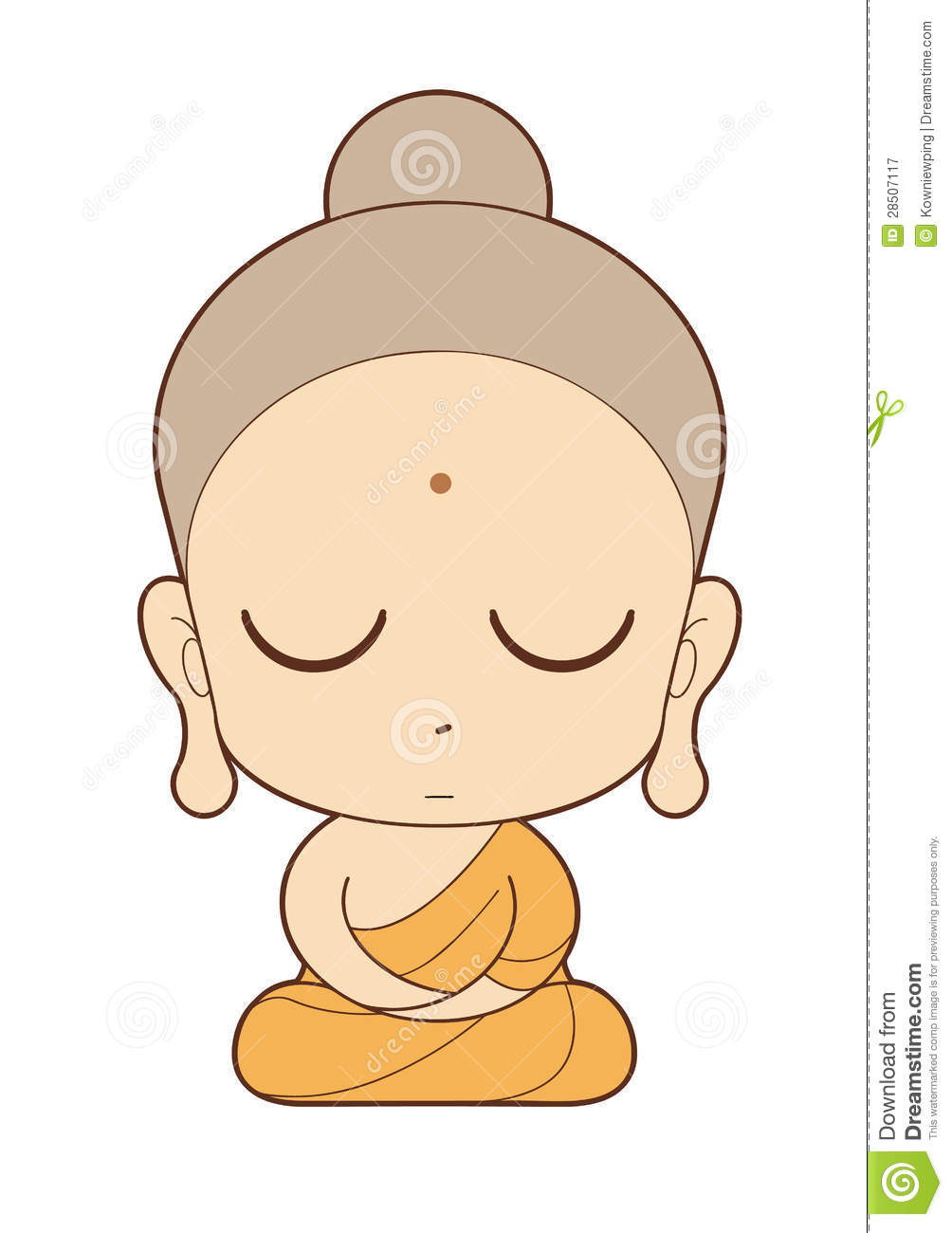 monk cartoons illustrations amp vector stock images 2695