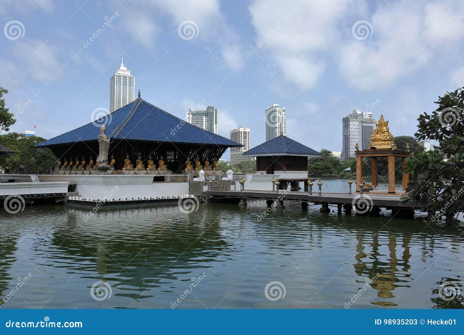 Buddhist Seema Malaka Of Colombo In Sri Lanka Editorial Stock Photo