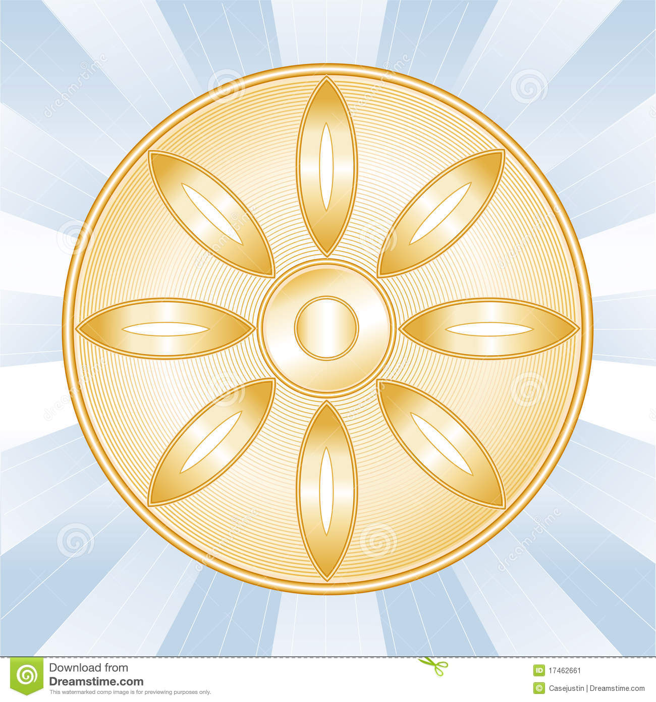 Buddhist Symbol Stock Vector Illustration Of Faith Buddhism 17462661