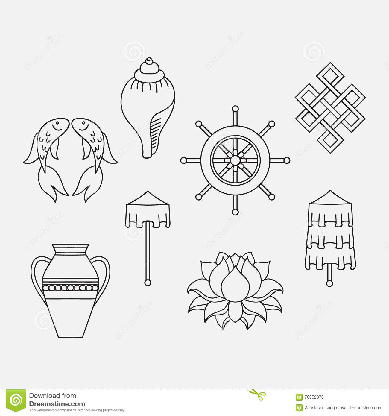 Buddhist Symbolism The 8 Auspicious Symbols Of Buddhism Right