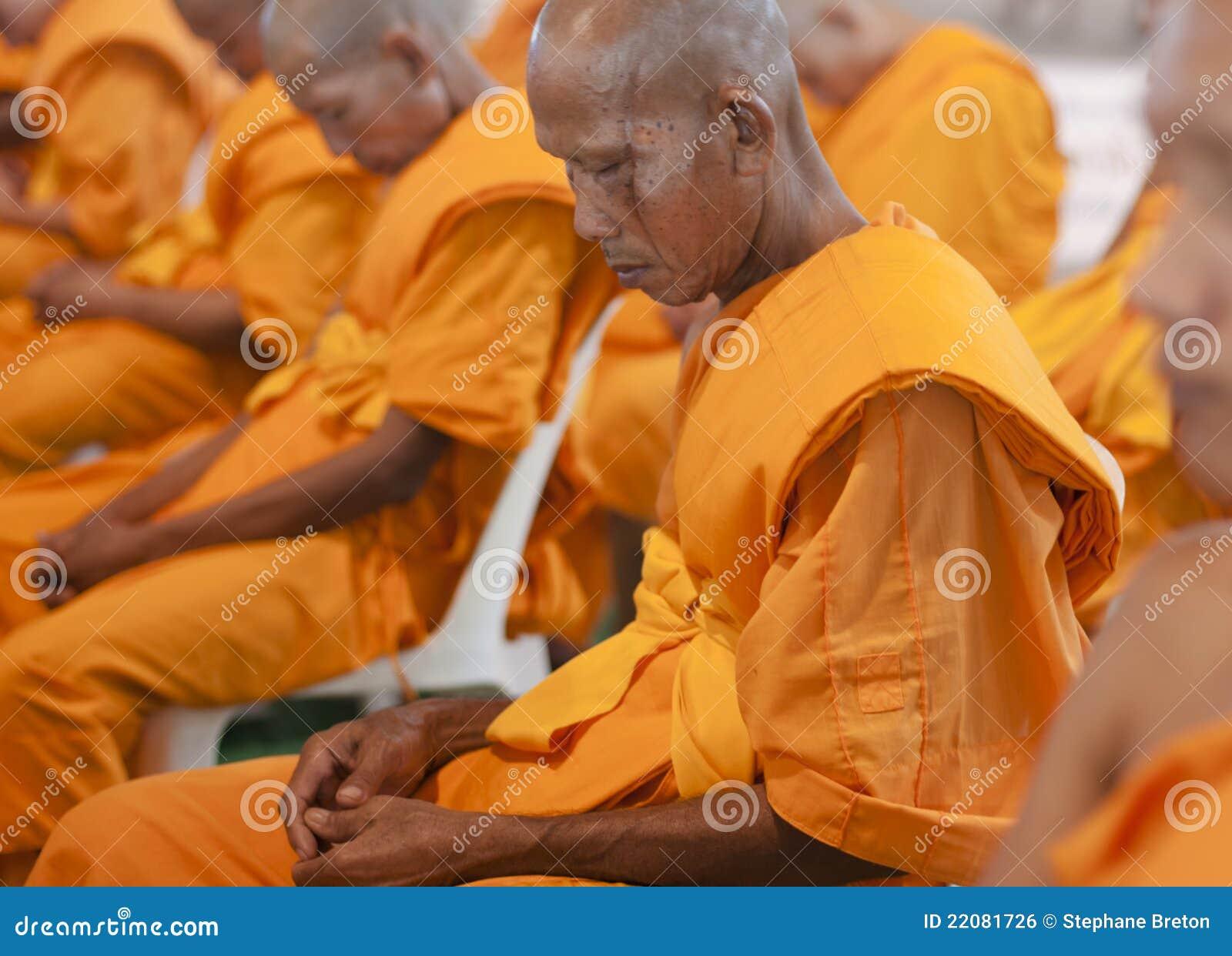 Buddhistischer Mönch in Thailand