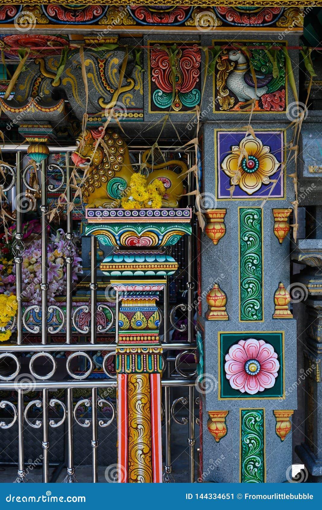 Buddhistischer Tempel in Bangkok, Thailand