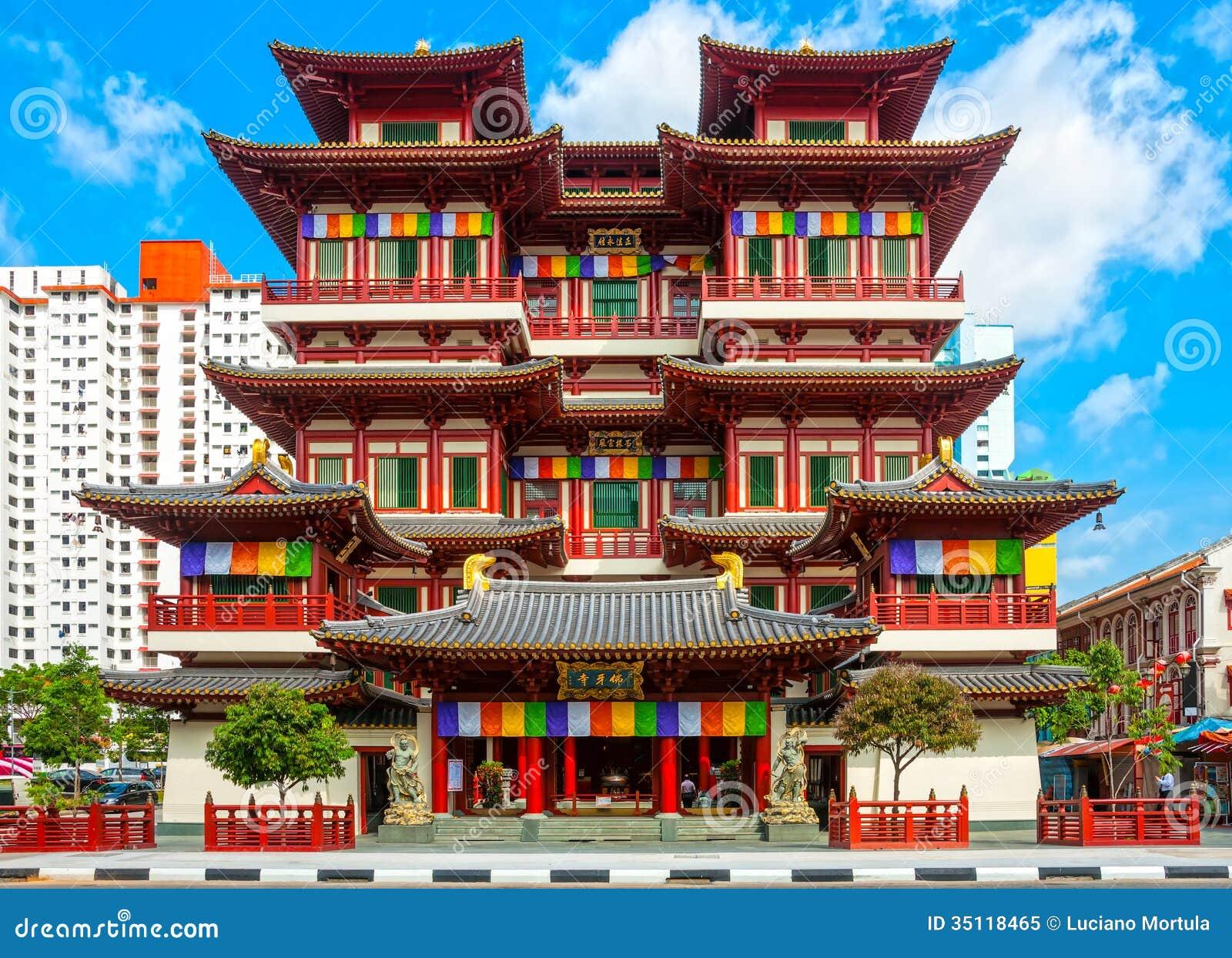 Buddhistischer Tempel ...
