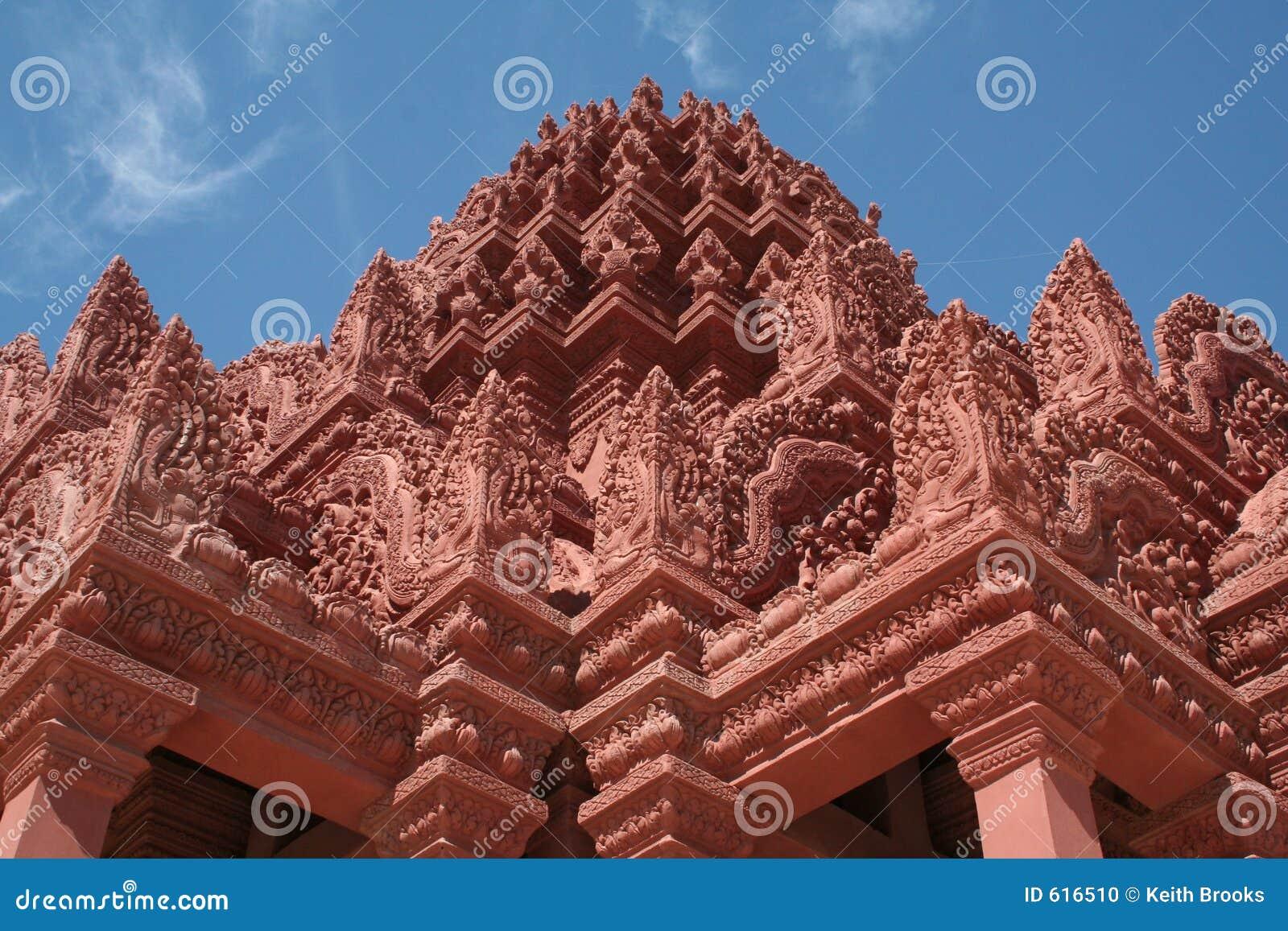 Buddistisk cambodia wat