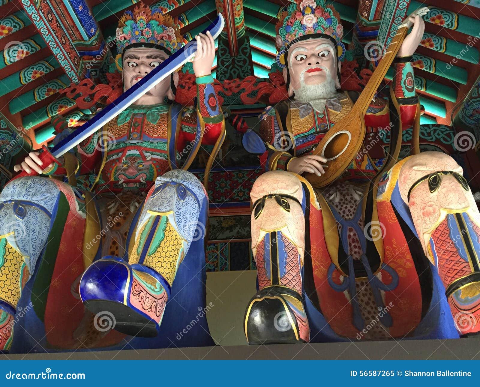 Buddistisk tempel för mu-Ryang Sa