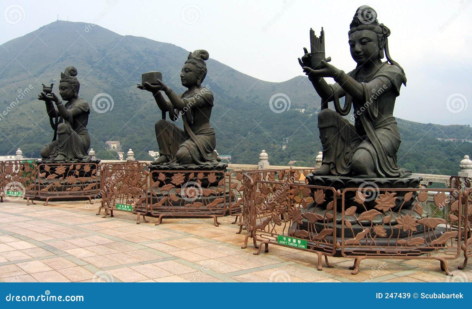 Buddistiska gudar