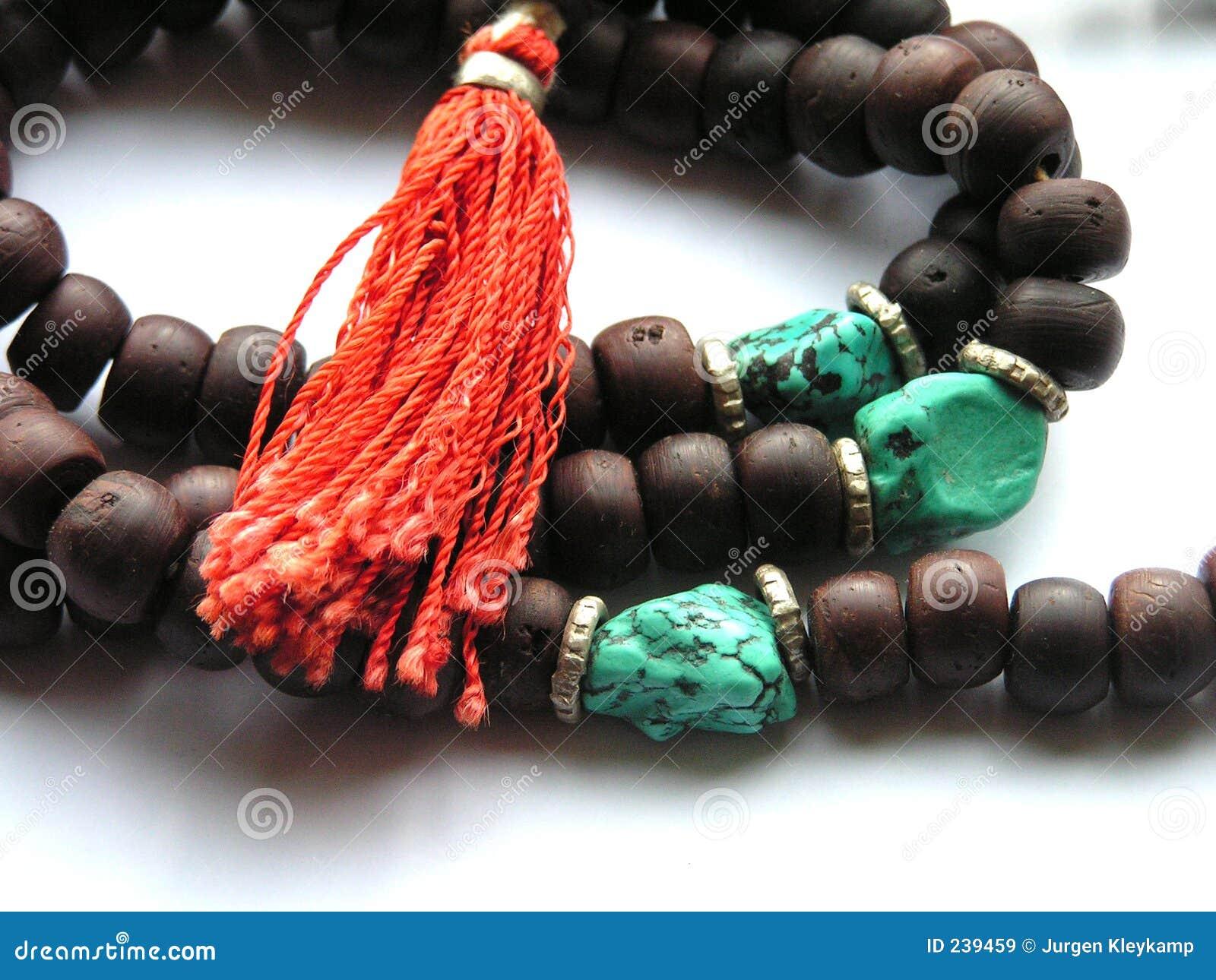 Buddistiskt halsband