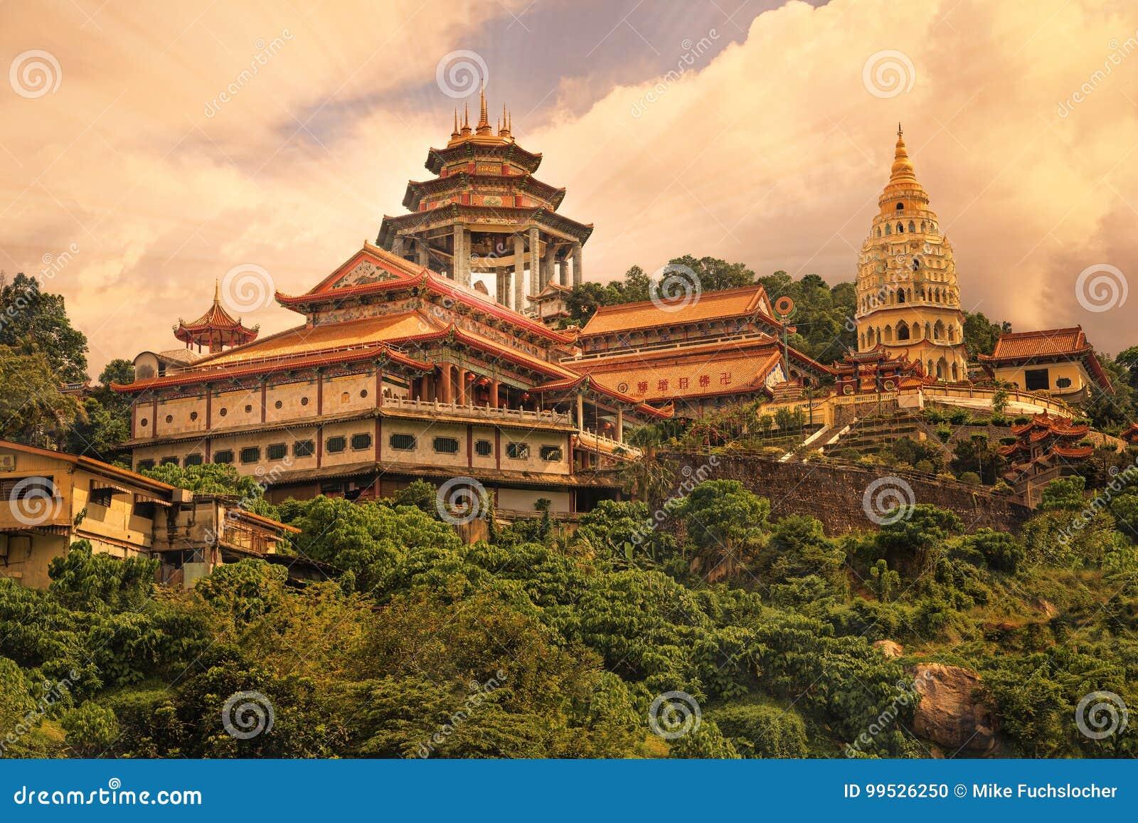 Buddyjska świątynia Kek Lok Si w Penang