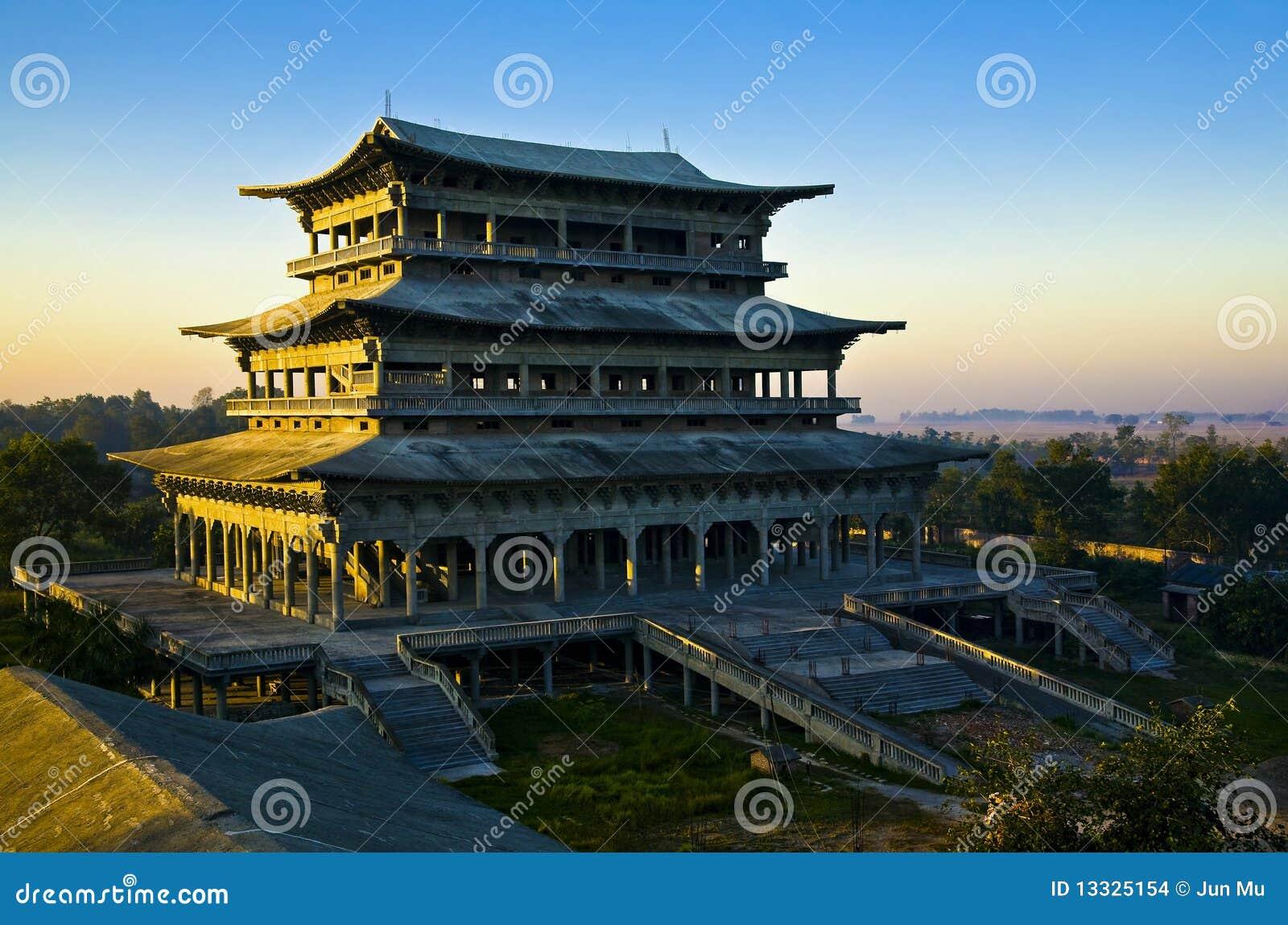 Buddyjska koreańska świątynia