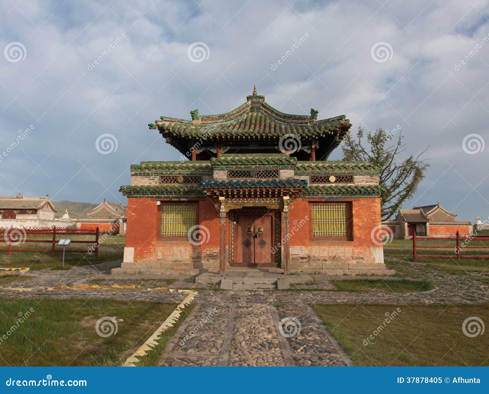 Buddyjski monaster Erdene Zu