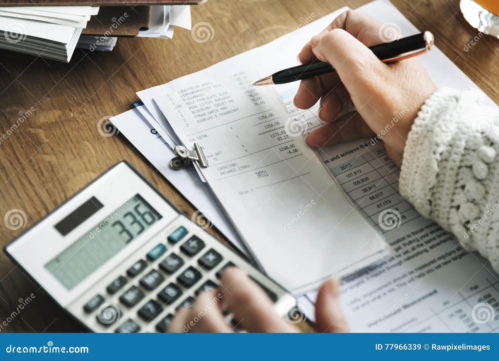 Budget- begrepp för planläggningsbokföringredovisning