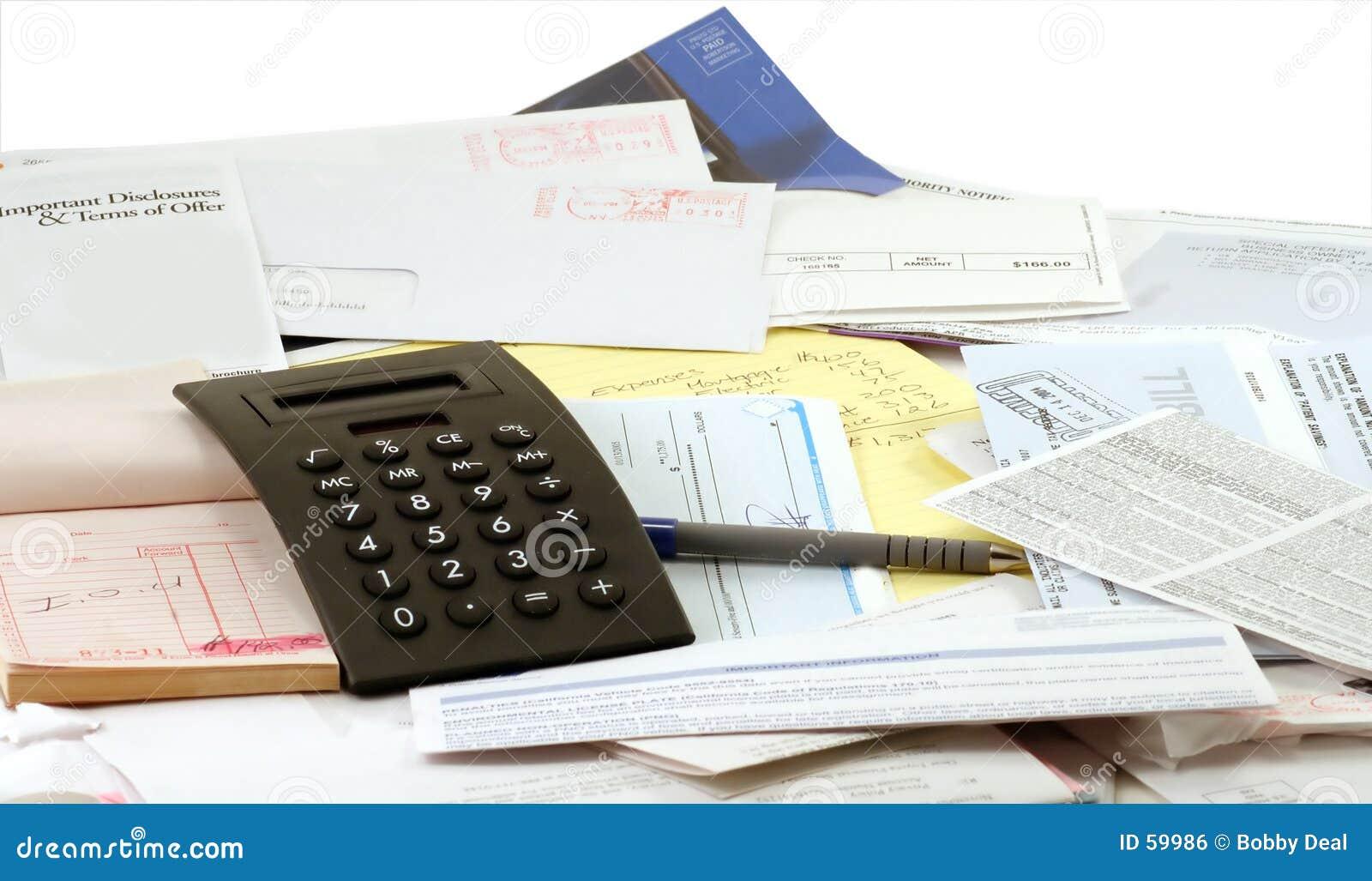 Download Budget de ménage photo stock. Image du finances, garniture - 59986