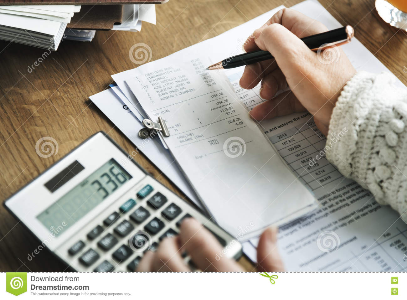 Budget Planning Bookkeeping Accounting Concept