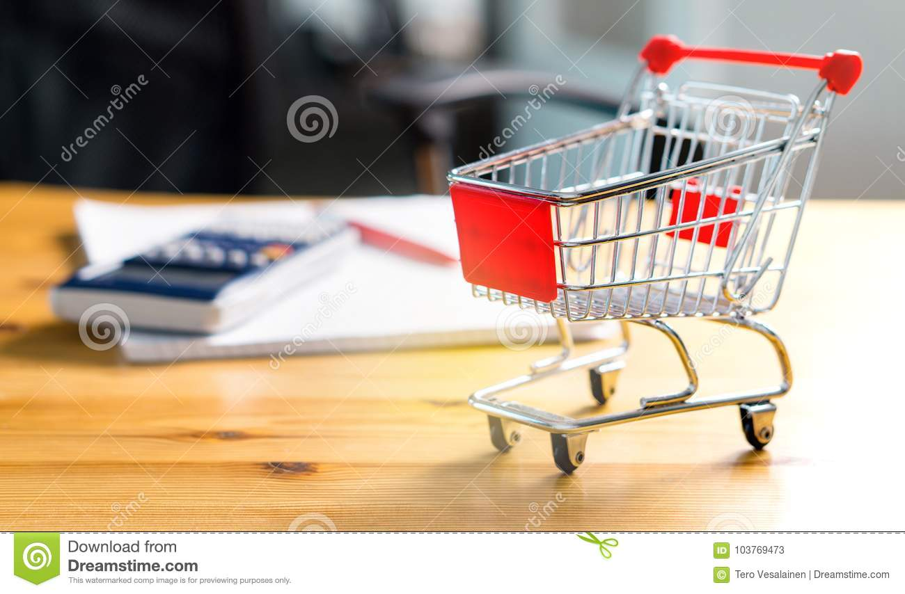 budget of poor and low income family stock image image of grocery