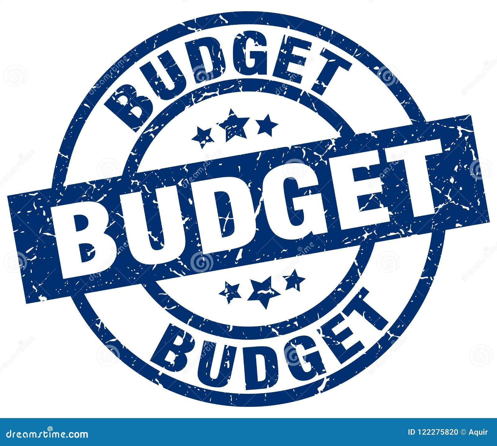 Budget- stämpel