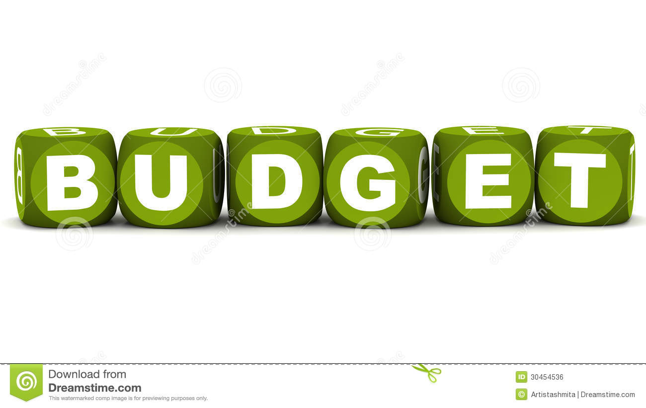 how to create a budget in word