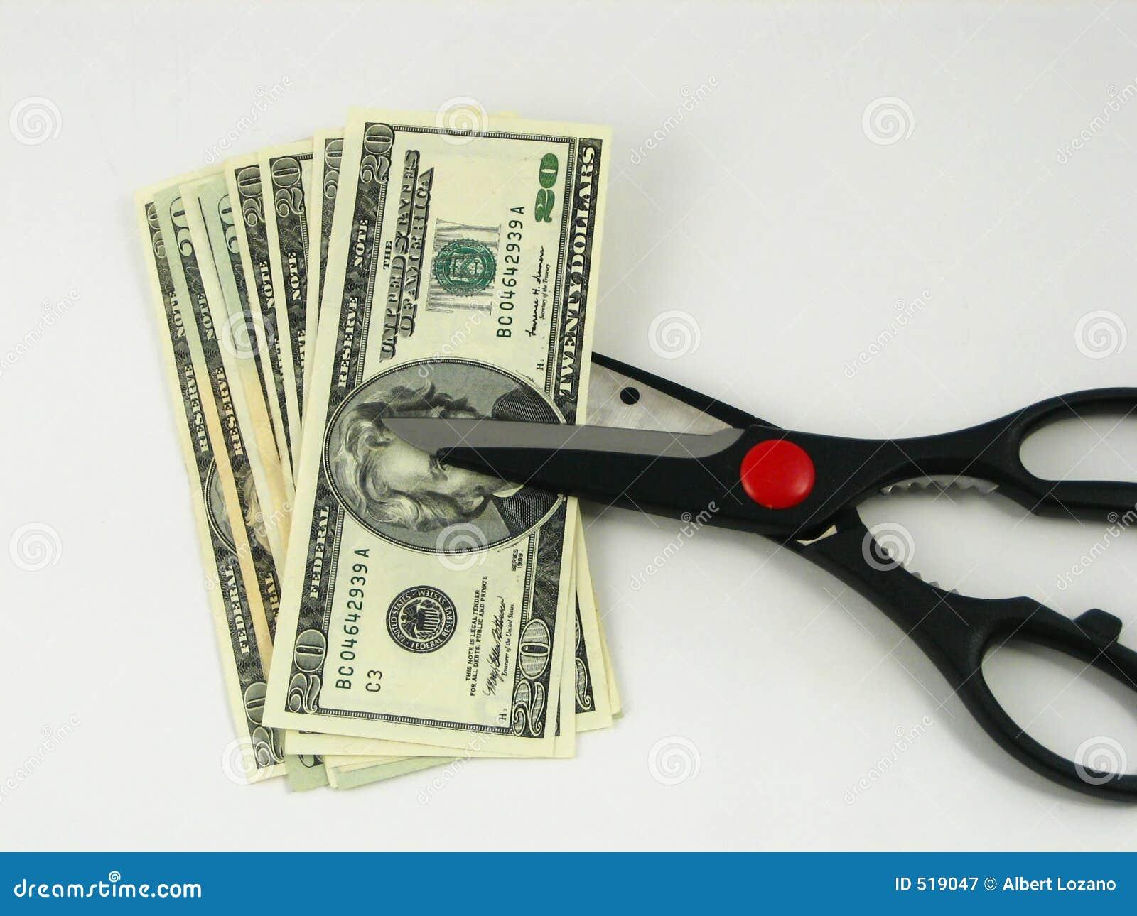 Budgetnedskärningskatter