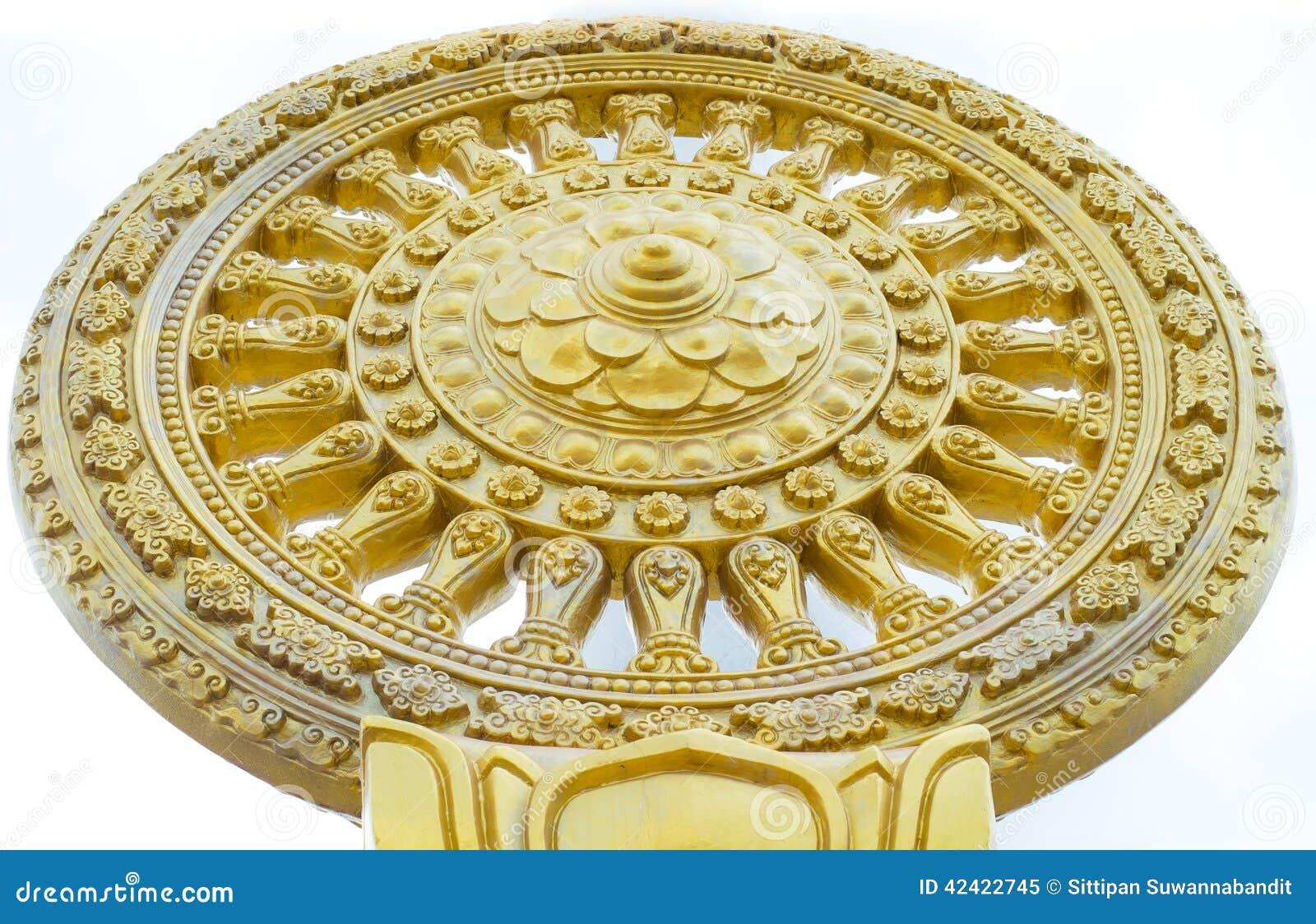 budha dharmachakra stock image image of traditional 42422745