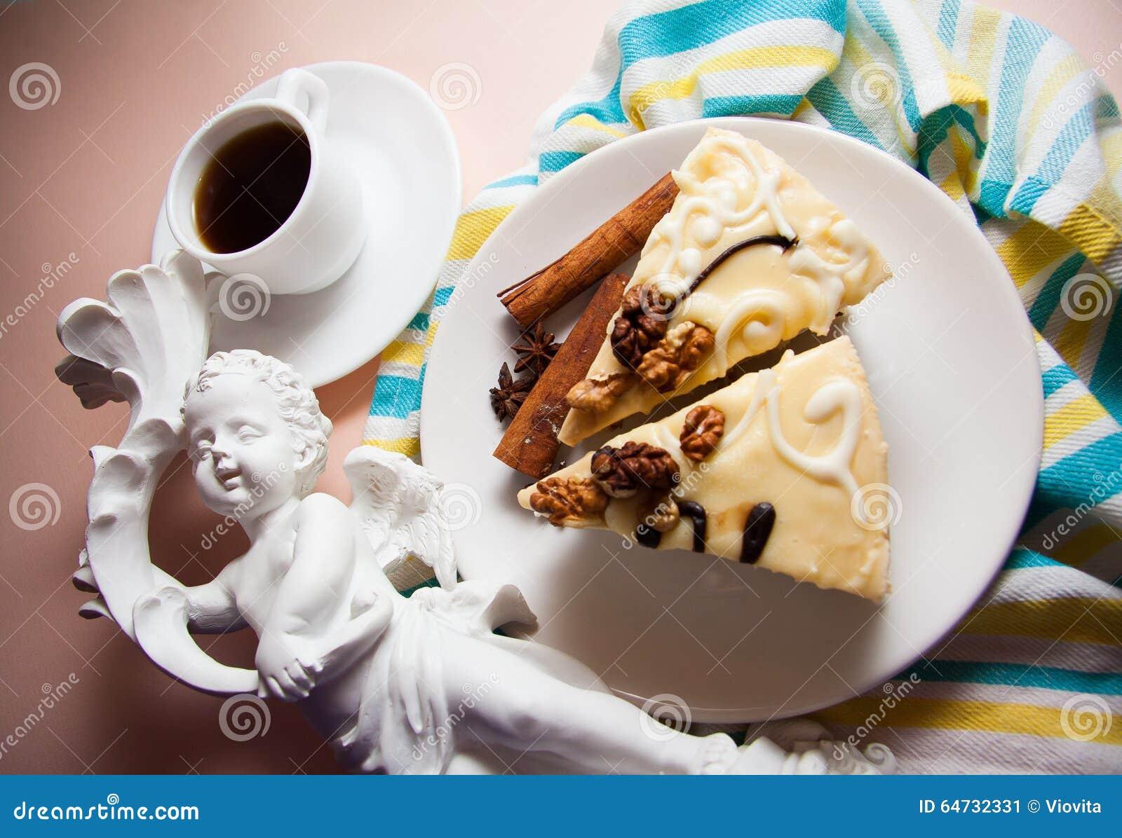 Budino di vaniglia con cannella