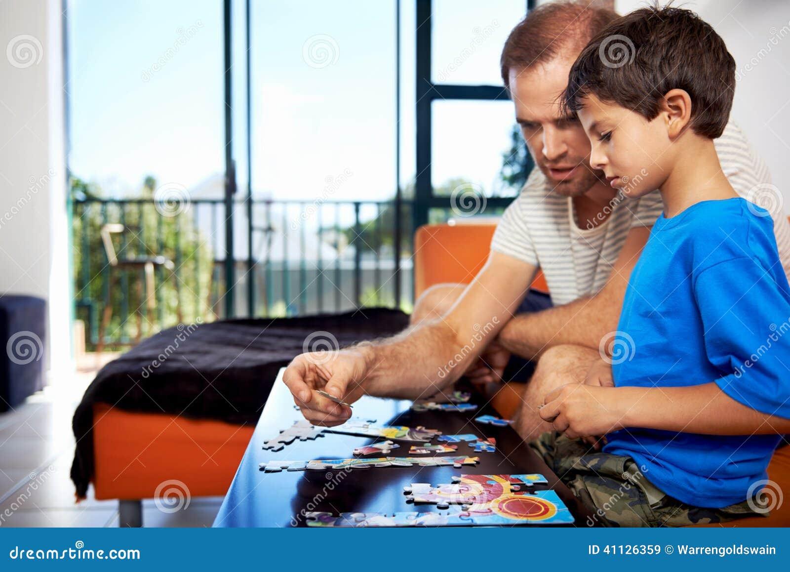 Budować łamigłówki rodziny