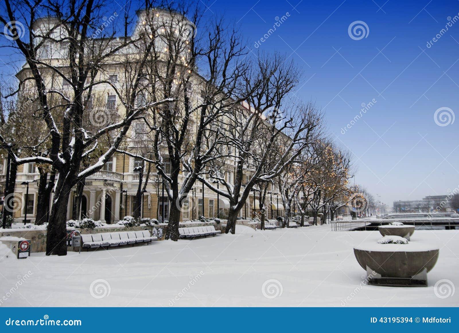 Budować Kontynentalny i Śnieżny w Rijeka, Chorwacja