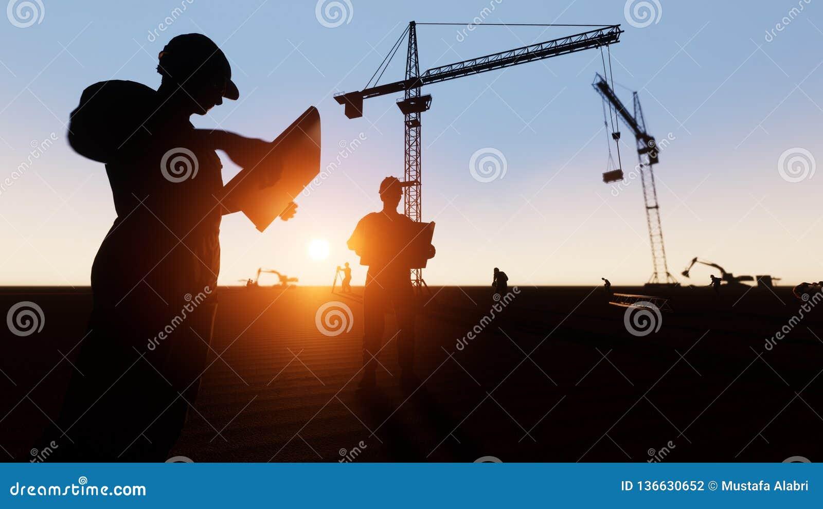 Budowa inżyniera sylwetka