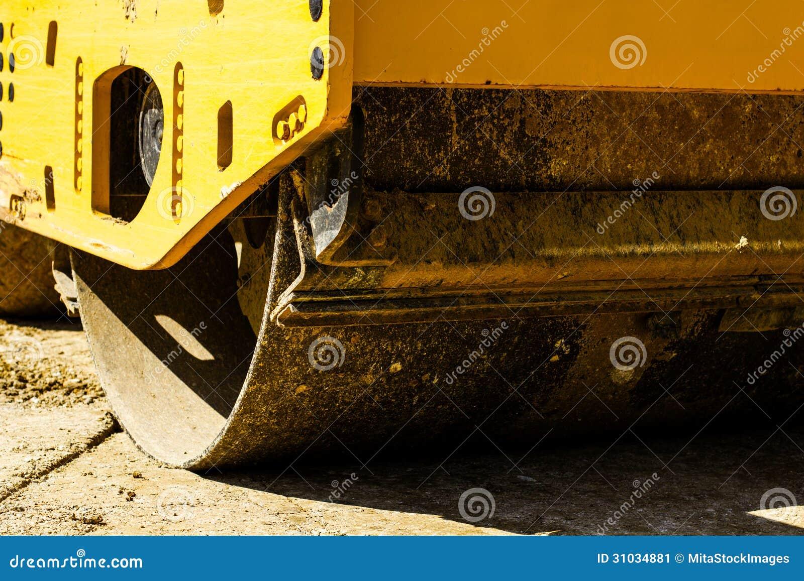 Budowa maszynowy drogowy rolownik