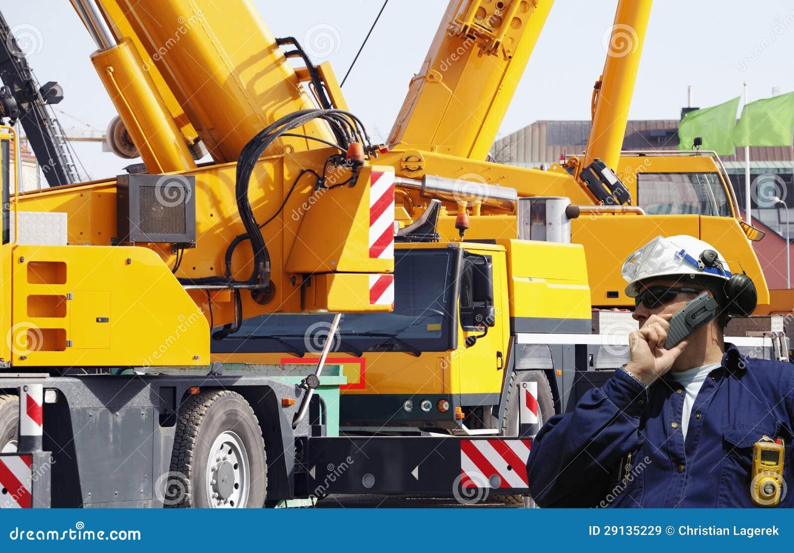Budowa pracownicy i maszyneria