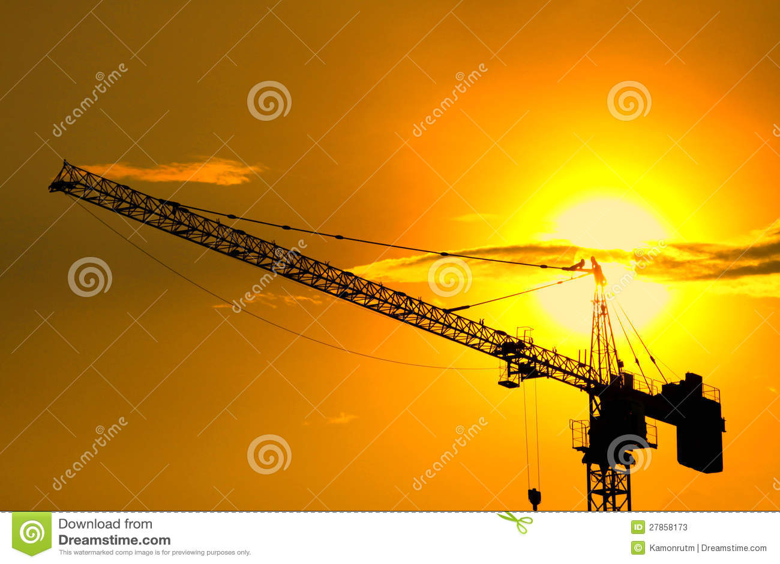 Budowa przemysłowi żurawie