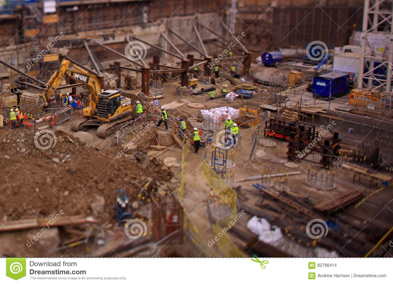 Budowa w Londyn