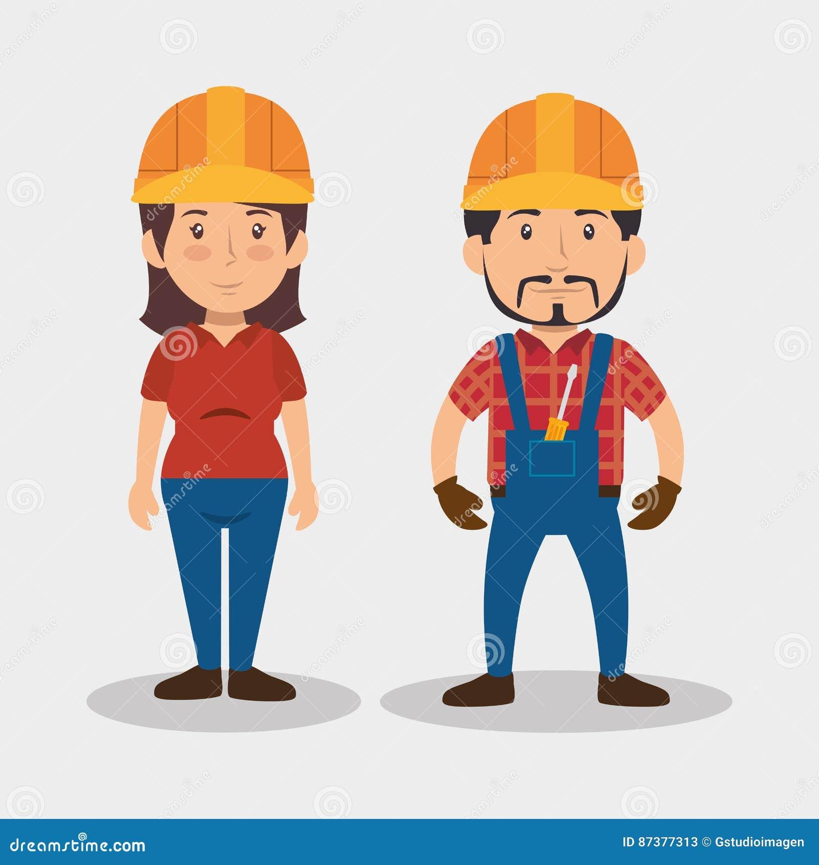 Budowy avatar fachowy charakter