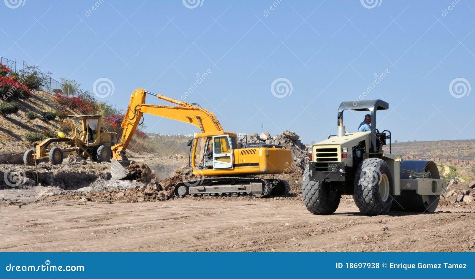 Budowy droga