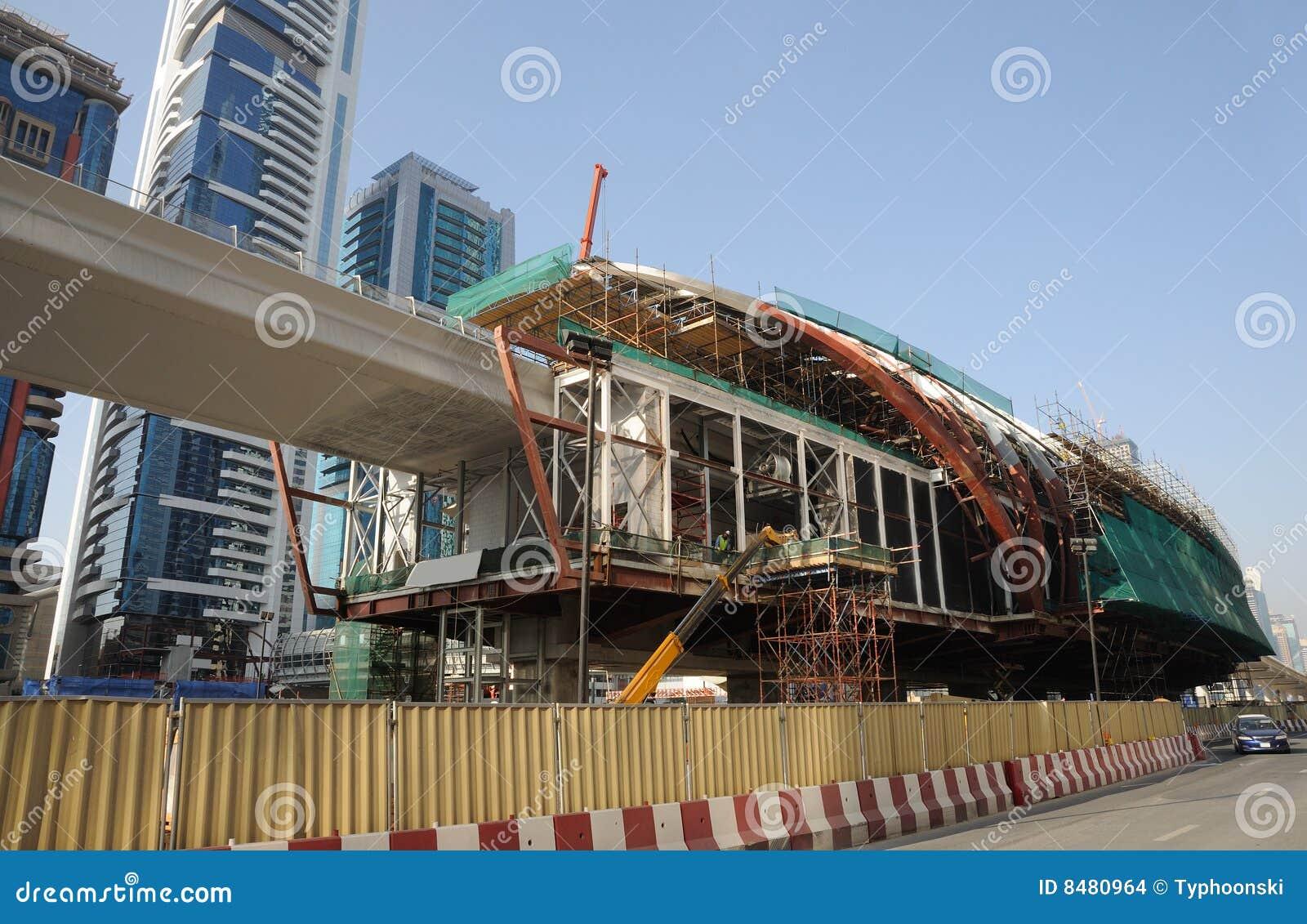 Budowy Dubai metro